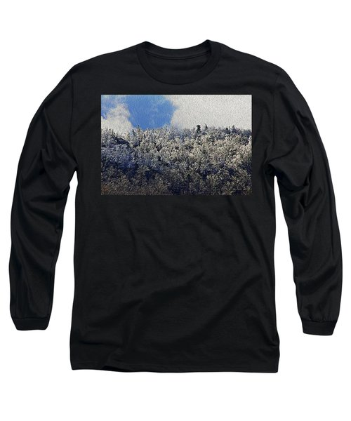 Frost Line 2 Long Sleeve T-Shirt by Tom Culver
