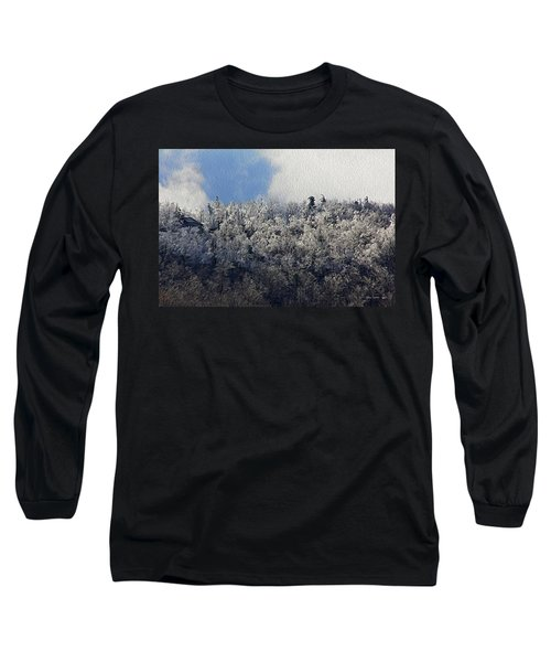 Frost Line Long Sleeve T-Shirt by Tom Culver