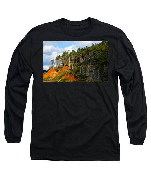 Long Sleeve T-Shirt featuring the photograph Frozen In Time by Jeanette C Landstrom