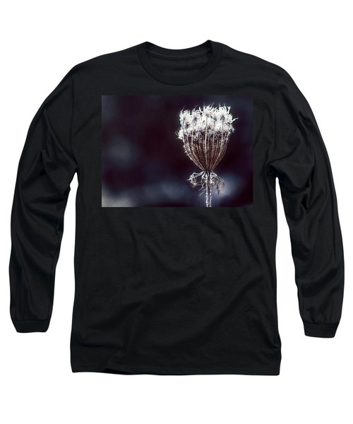 Long Sleeve T-Shirt featuring the photograph Frozen Wisps by Melanie Lankford Photography