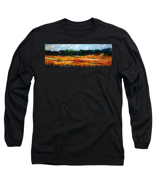 Long Sleeve T-Shirt featuring the painting Fruition by Meaghan Troup