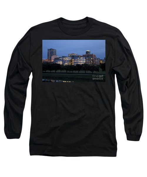 Ft. Worth Texas Skyline Long Sleeve T-Shirt