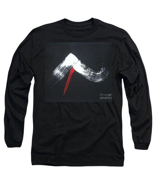 Fuji Ni Yogan - Ryu Long Sleeve T-Shirt by Roberto Prusso