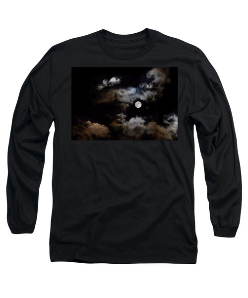 Full Moon After The Storm Long Sleeve T-Shirt
