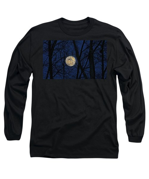 Full Moon March 15 2014 Long Sleeve T-Shirt