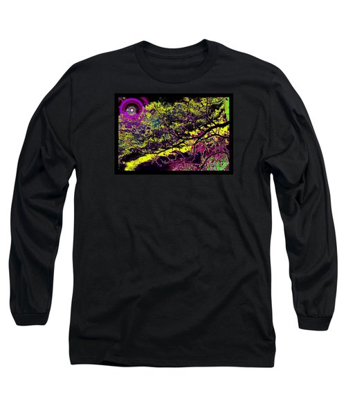Galactic Luminescence Long Sleeve T-Shirt by Susanne Still