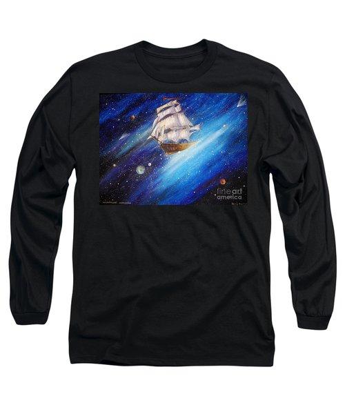 Galactic Traveler Long Sleeve T-Shirt
