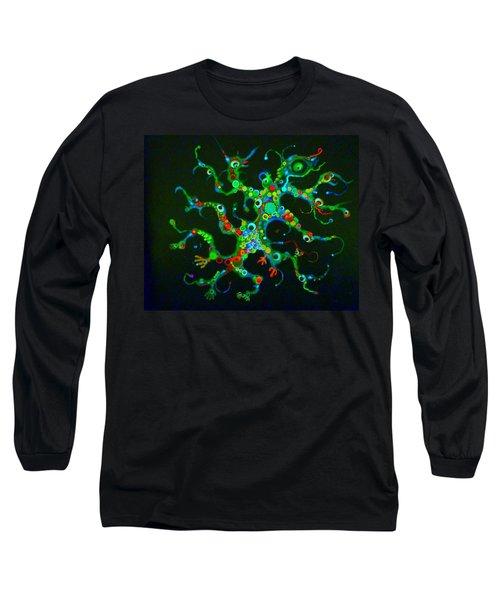 Galactik Gekko Long Sleeve T-Shirt