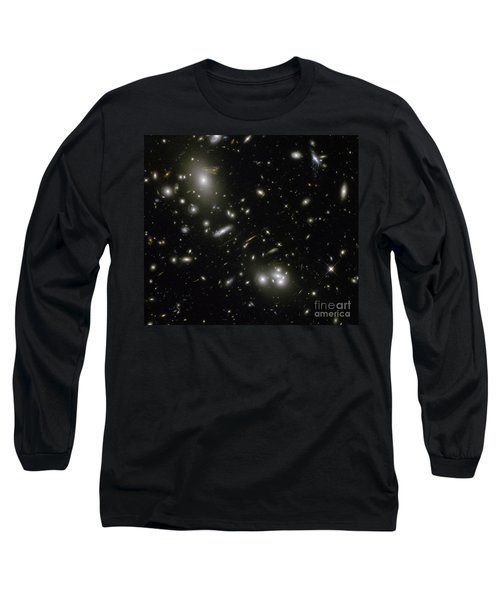 Galaxy Cluster Abell 68 Long Sleeve T-Shirt