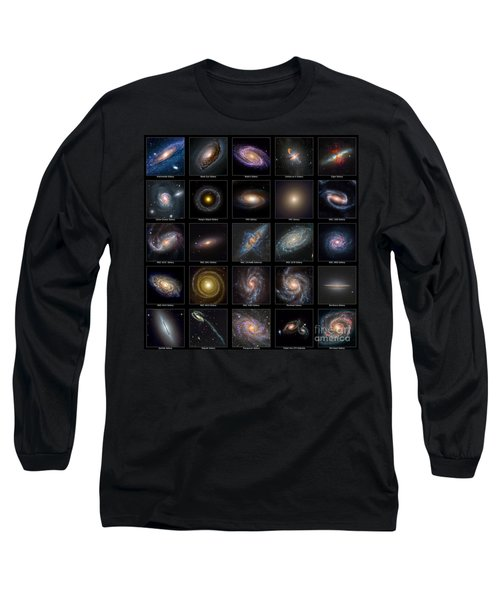 Galaxy Collection Long Sleeve T-Shirt by Antony McAulay
