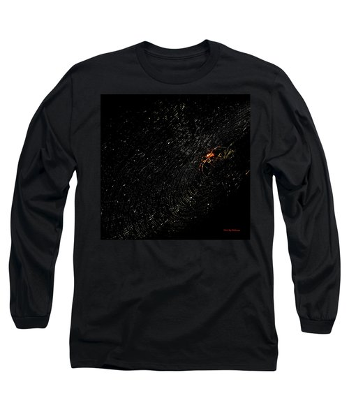 Galaxy Web Long Sleeve T-Shirt