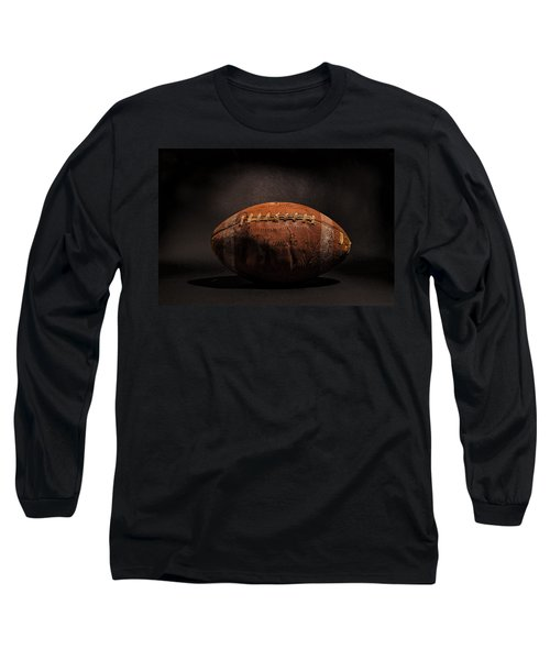 Game Ball Long Sleeve T-Shirt by Peter Tellone