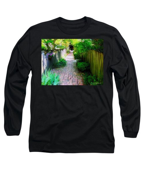 Garden Alley Long Sleeve T-Shirt by Brian Wallace