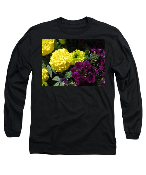 Garden Contrast Long Sleeve T-Shirt