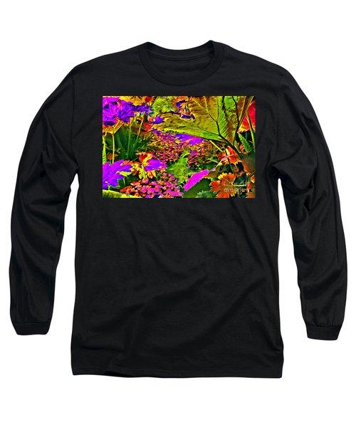 Garden Of Color Long Sleeve T-Shirt