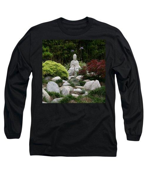 Garden Statue Long Sleeve T-Shirt