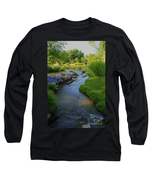 Garden Stream Hdr #9795 Long Sleeve T-Shirt