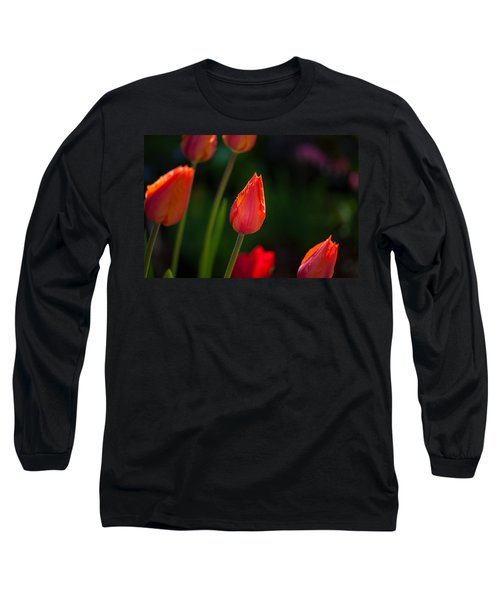 Garden Tulips Long Sleeve T-Shirt