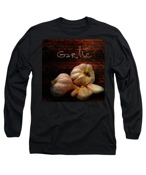 Garlic II Long Sleeve T-Shirt by Lourry Legarde