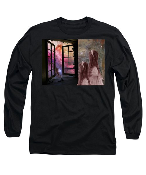 Gates Of Heaven-regarder La Fin Du Monde Long Sleeve T-Shirt