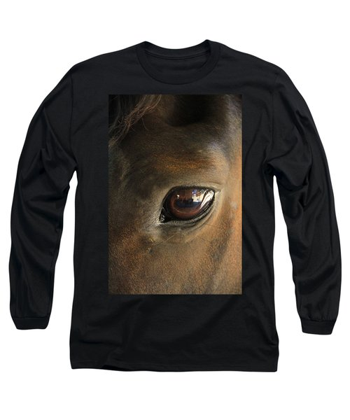 Gateway To A Horses Soul Long Sleeve T-Shirt by Shoal Hollingsworth