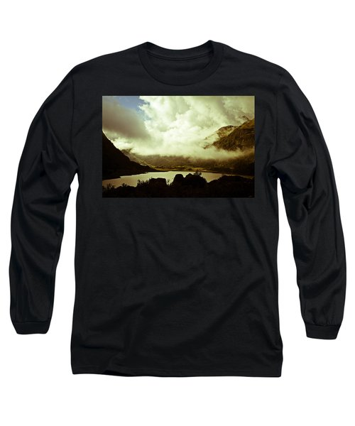 Gathering Clouds  Long Sleeve T-Shirt by Lana Enderle