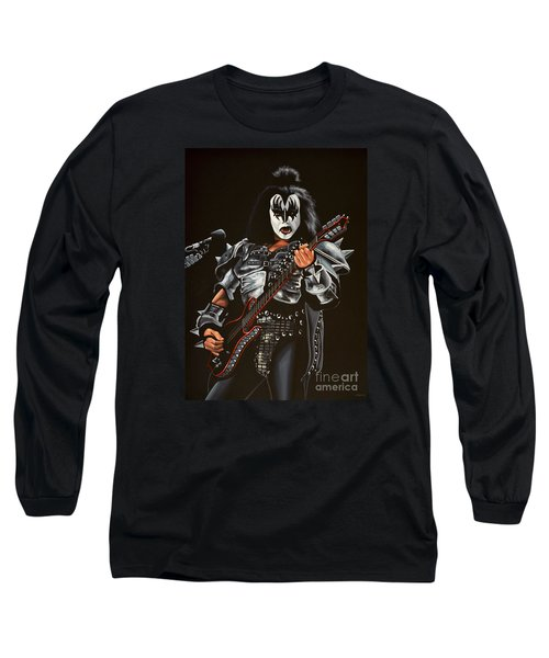 Gene Simmons Of Kiss Long Sleeve T-Shirt
