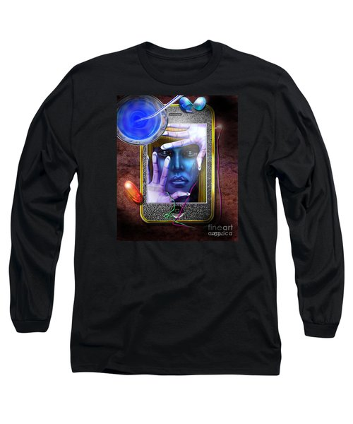 Generation Blu - The Blu Pill Makes Kool Aid Long Sleeve T-Shirt