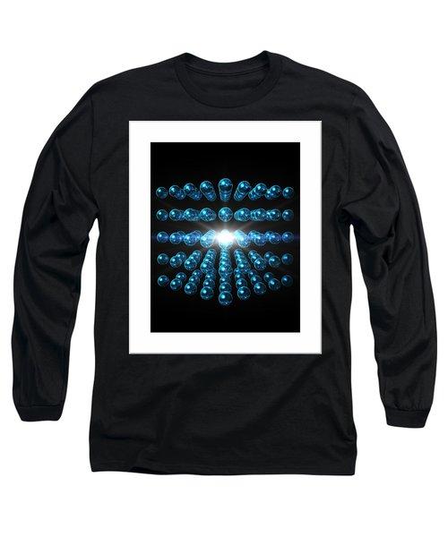 Long Sleeve T-Shirt featuring the digital art Genesis... by Tim Fillingim