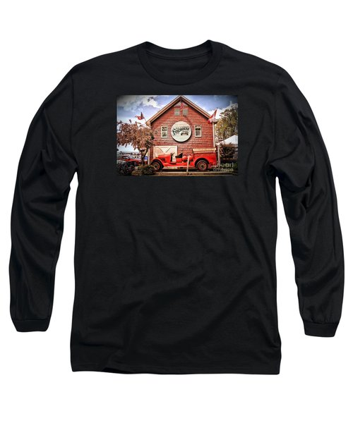 Geneva On The Lake Firehouse Long Sleeve T-Shirt by The Art of Alice Terrill