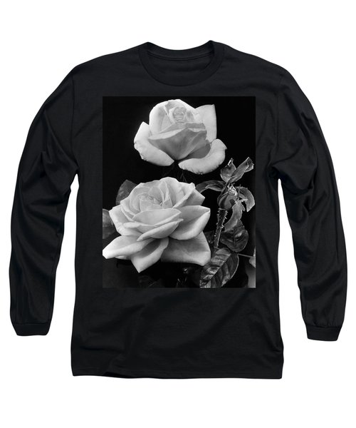 'george Arends' Roses Long Sleeve T-Shirt