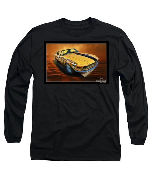 George Follmer 1970 Boss 302 Ford Mustang Long Sleeve T-Shirt