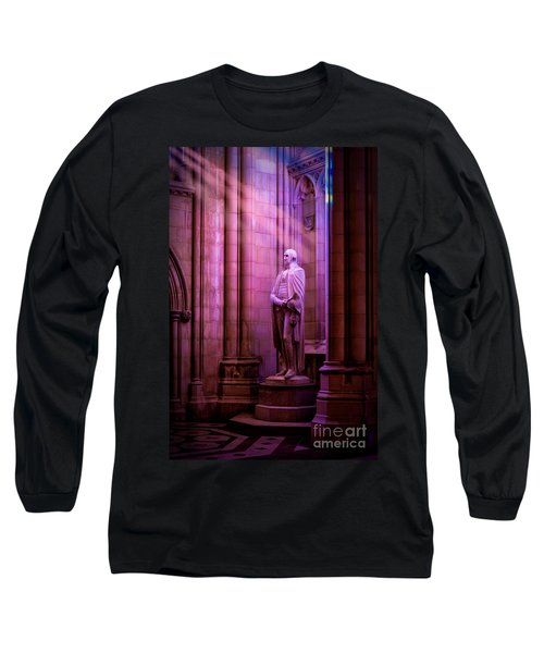 George Washington At The National Cathedral Long Sleeve T-Shirt