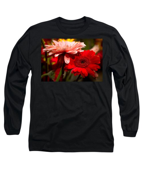 Long Sleeve T-Shirt featuring the photograph Gerbera Daisies by Patrice Zinck