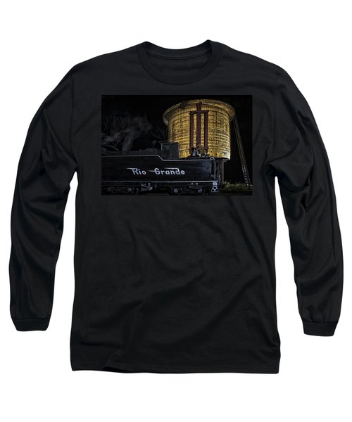 Long Sleeve T-Shirt featuring the photograph Getting Water by Priscilla Burgers