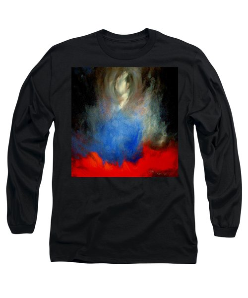 Long Sleeve T-Shirt featuring the painting Ghost by Lisa Kaiser