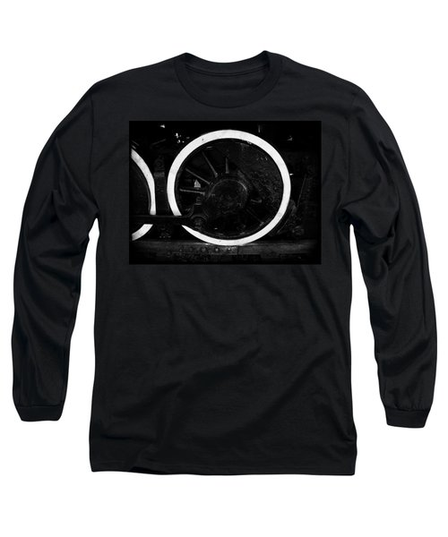 Long Sleeve T-Shirt featuring the photograph Steam Powered by Aaron Berg