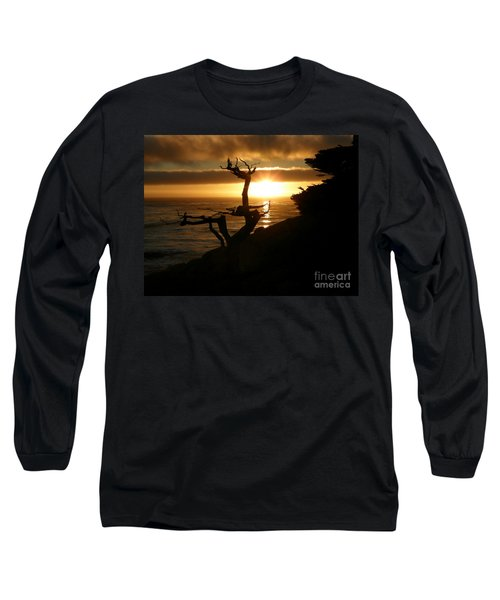 Ghost Tree At Sunset Long Sleeve T-Shirt