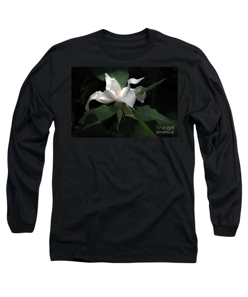 Giant Magnolia Long Sleeve T-Shirt