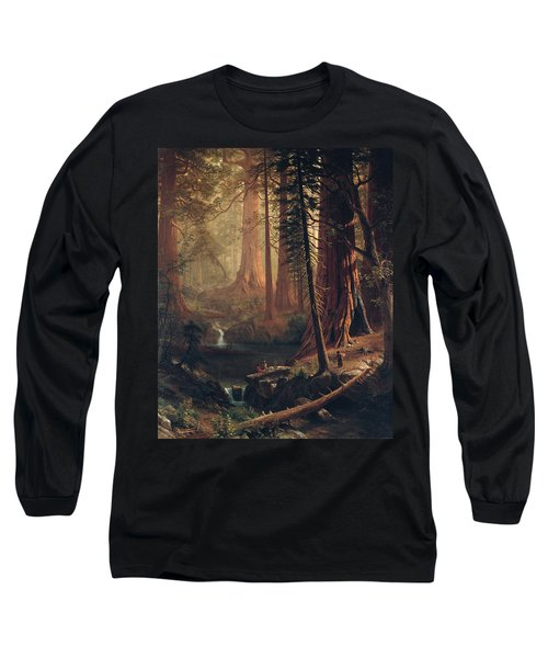 Giant Redwood Trees Of California Long Sleeve T-Shirt