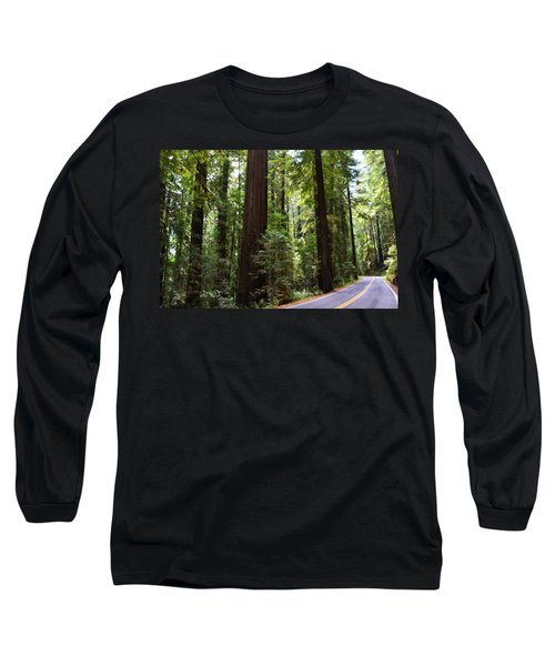 Giants And The Road Long Sleeve T-Shirt