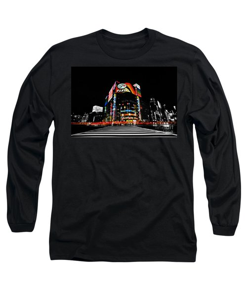 Ginza At Night Long Sleeve T-Shirt