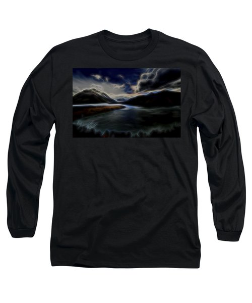 Glacial Light 1 Long Sleeve T-Shirt by William Horden