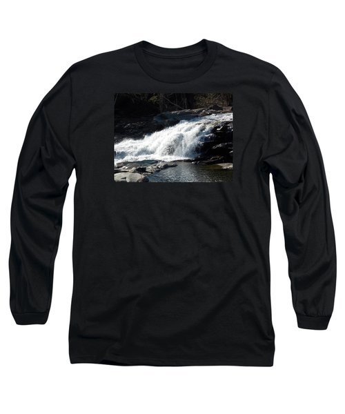 Glacial Potholes Falls Long Sleeve T-Shirt by Catherine Gagne