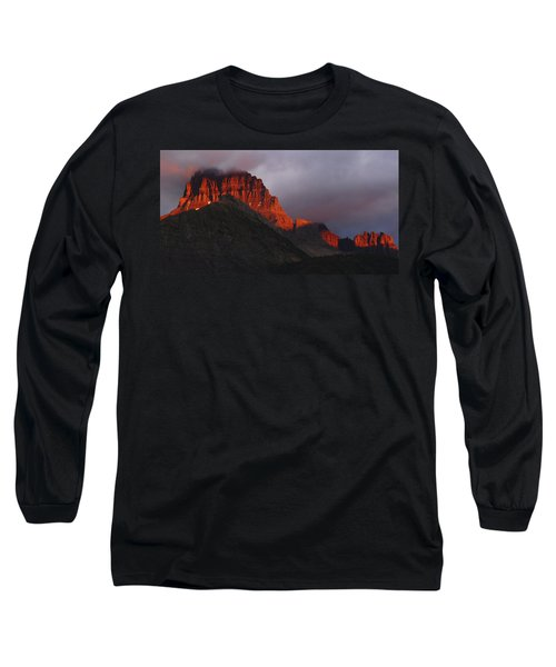 Glacier Sunrise Long Sleeve T-Shirt