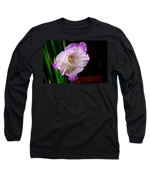 Gladiolus - Summer Beauty Long Sleeve T-Shirt by Tom Culver