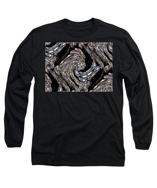 Glass Bird Long Sleeve T-Shirt by Kristin Elmquist