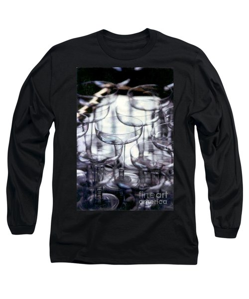 Long Sleeve T-Shirt featuring the photograph New Orleans Toast To The New Year 2017 Abstract by Michael Hoard