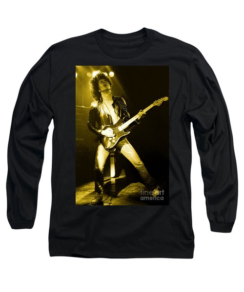 Glenn Tipton Of Judas Priest At The Warfield Theater During British Steel Tour - Unreleased Long Sleeve T-Shirt