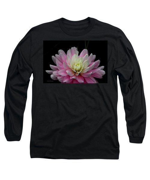 Glistening Dahlia Radiance Long Sleeve T-Shirt